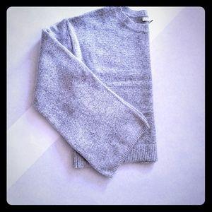 Women's Gray Crop Sweater